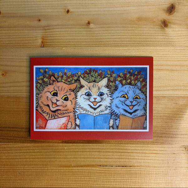 Louis Wain Christmas Cards - Pack of 10 (1 design)