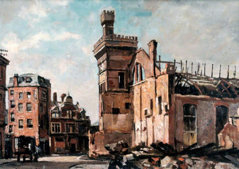 Drill  Hall,  Edward  King