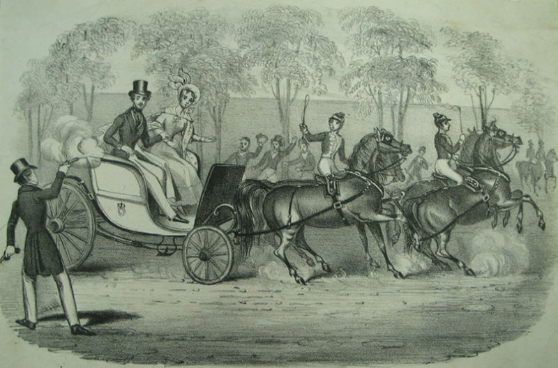 Edward  Oxford  Firing At  Her  Majesty And  Prince  Albert