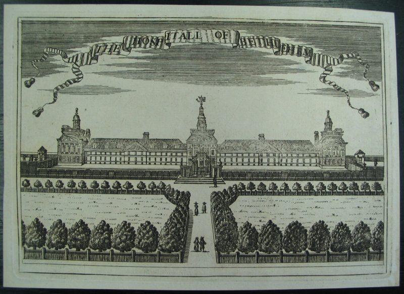 LDBTH8 115 The Hospitall of Bethlehem c 1695 a