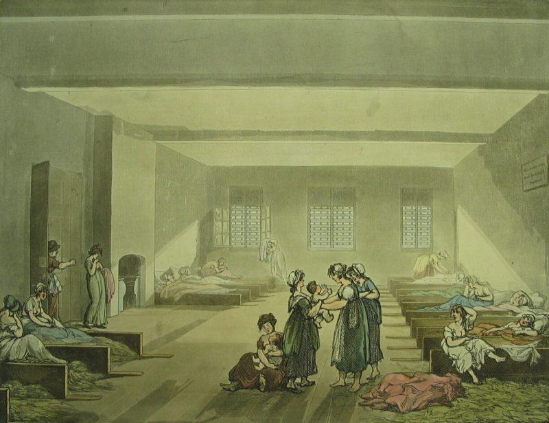 LDBTH8 57 Pass Room Bridewell c 1808 b