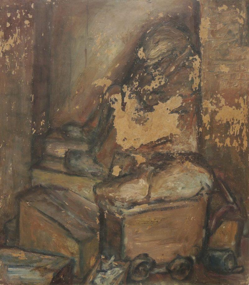 Ldbth989   Tramp Sleeping In A Doorway C 1964
