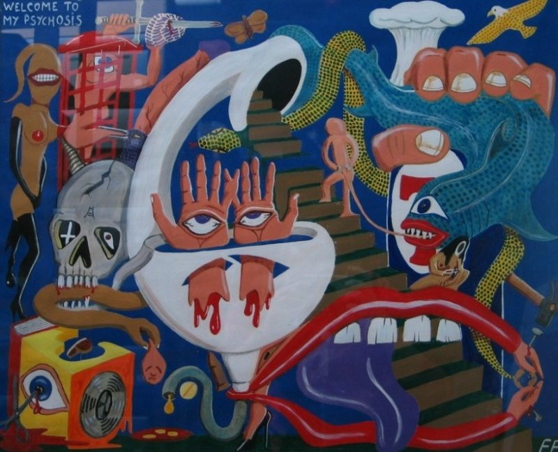 Ldbth815 Welcome To My Psychosis C 1993 B