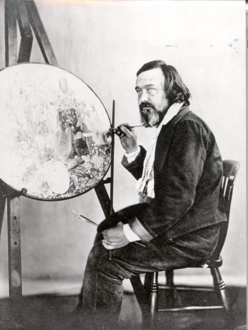 Richard Dadd At His Easel 1850S A