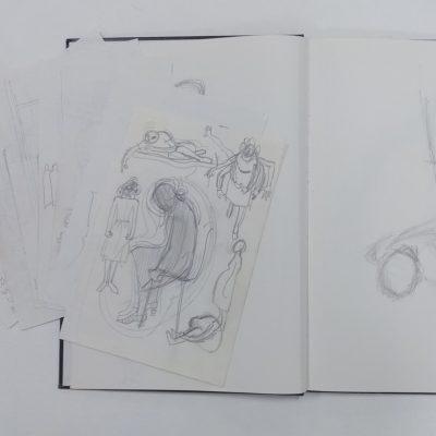 LDBTH:1008 - Springfield Summer - Sketchbooks (1976-1978)