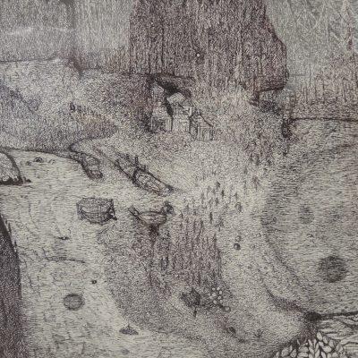 Ponta Cherry Blues artwork by Philip J. Baird