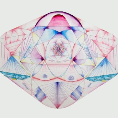 LDBTH:977 - Pink Metatronic Circuit