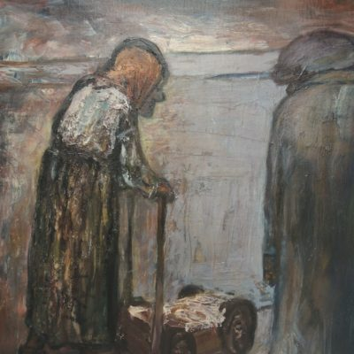 No. 1 (Two Figures) artwork by Cynthia Pell (Weldon)
