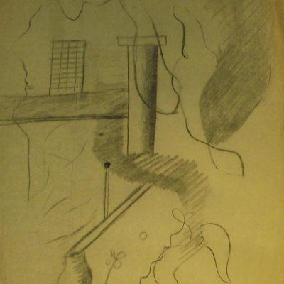 LDBTH:584.1 - Charcoal Sketch XIII