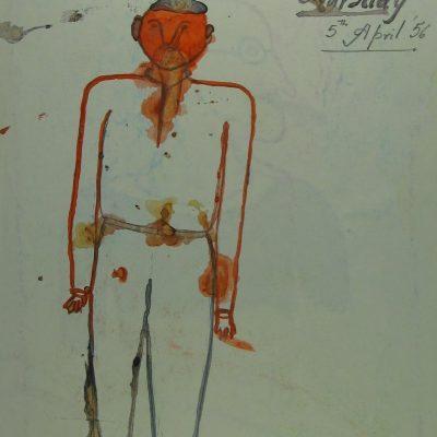 LDBTH:375v - Man with Orange Face