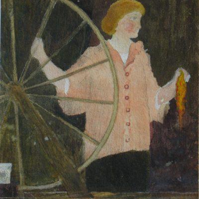 Woman at Wheel