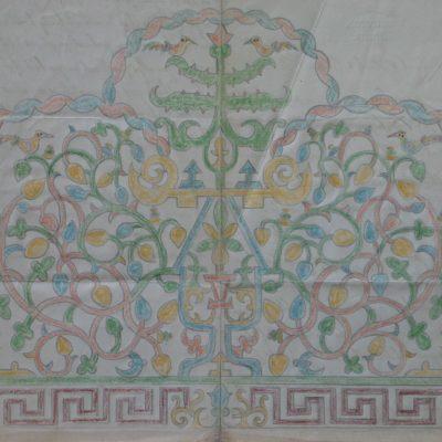 LDBTH:555r - Symmetrical Design with Birds