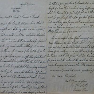 LDBTH:555v - Letter