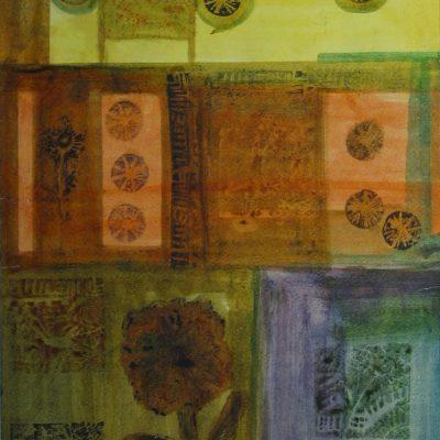 LDBTH:1 - Textile Design with Flower