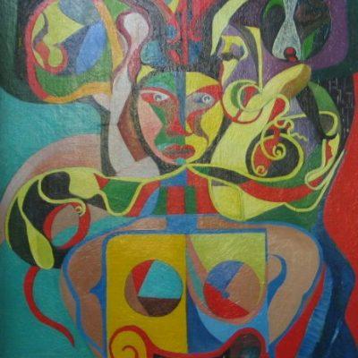 LDBTH:137 - Multi-Coloured Man