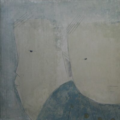 Two Sad Children artwork by Marion Patrick