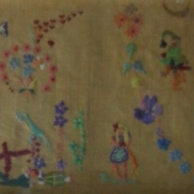 LDBTH:153 - Floral Embroidery