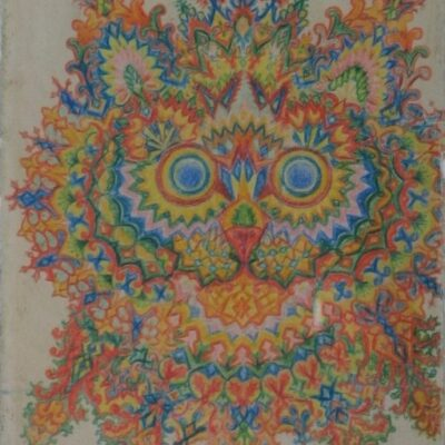 LDBTH:158 - Kaleidoscope Cats IV
