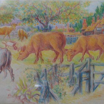 LDBTH:166 - Cows Grazing