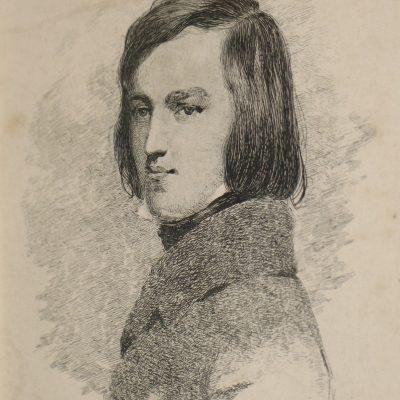 Self Portrait artwork by Richard Dadd