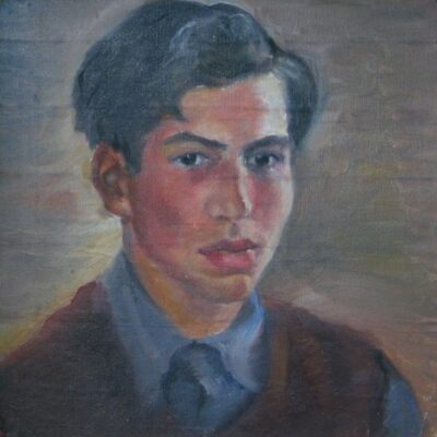 Portrait of a Young Man artwork by Charles Sims