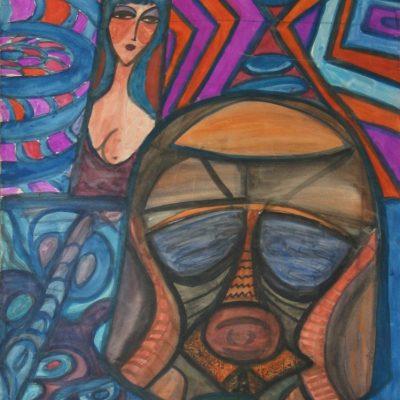 LDBTH:258 - Woman and Mask