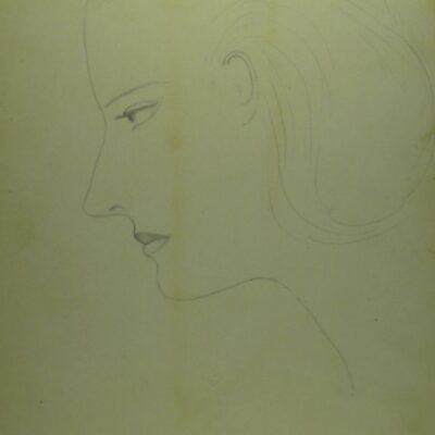LDBTH:276 - Woman in Profile (After Recovery)
