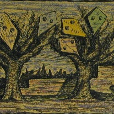 LDBTH:285 - Trees with Kites