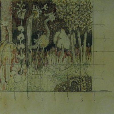 Fantastic Forest artwork by Edgar Farrar