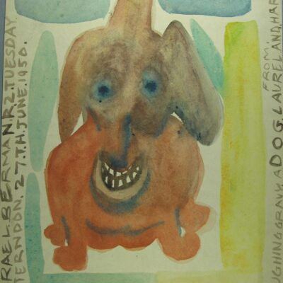 Laughing Gravy artwork by Israel Berman