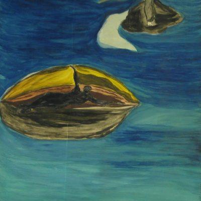 Sea Goddess artwork by Dolores de Villiers