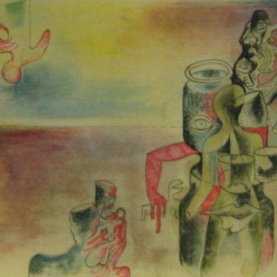 LDBTH:307 - Surrealist Being in Landscape