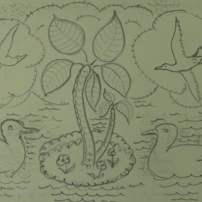 LDBTH:339 - Island with Birds and Ducks