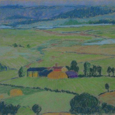 LDBTH:342 - Farm in a landscape