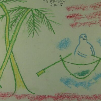 LDBTH:380 - Palm Trees and Boat
