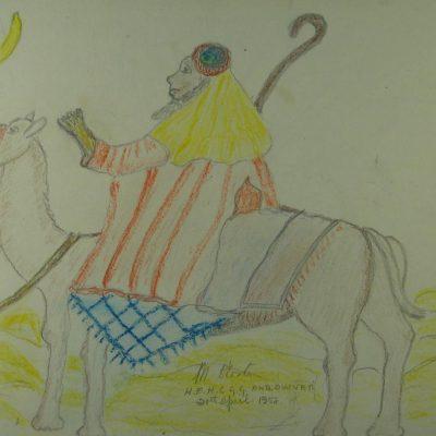Shepherd on a Camel