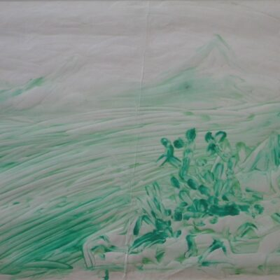 LDBTH:402 - Green Mountains in Landscape