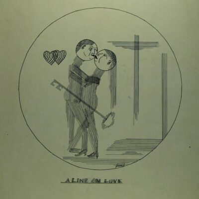 A Line on Love artwork by  Penrose