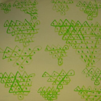 Green Triangles artwork by  Graham