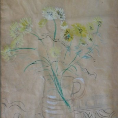 Mescaline Painting - Vase of Flowers artwork by Basil Beaumont
