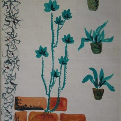 LDBTH:44 - Plants and Wall