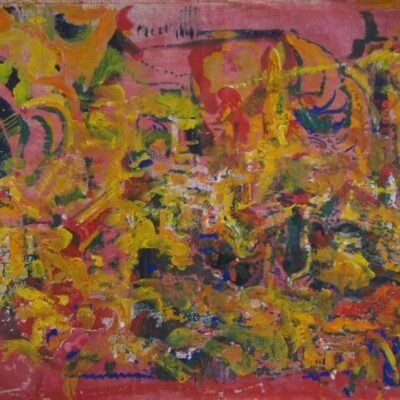 LDBTH:440 - Red and Yellow Abstract