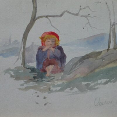 LDBTH:464 - Small Child in Wood