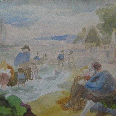 LDBTH:467 - Harbour Scene