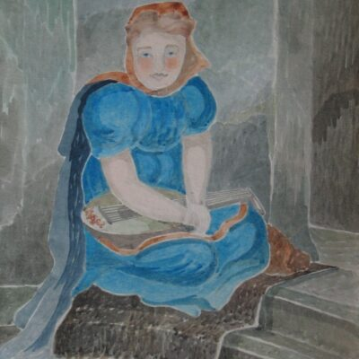 LDBTH:468 - Girl with a Lute