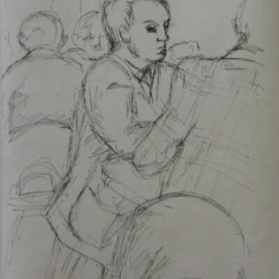LDBTH:5 - Sketch in a Cafe