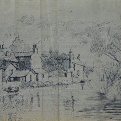 LDBTH:502 - Village by a River