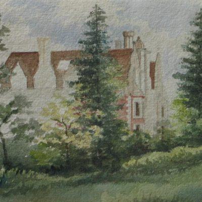 LDBTH:506 - House amid Trees