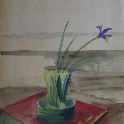 LDBTH:512 - Iris in Vase