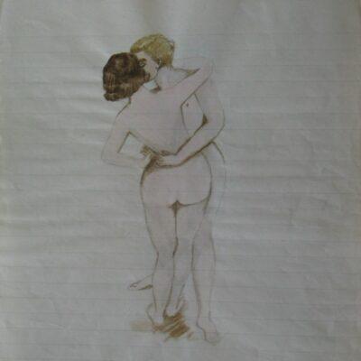 LDBTH:525 - Female Nude Series VIII (Love's Plays)